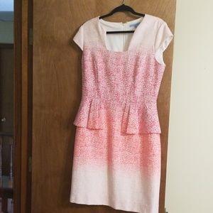 NWOT Ombre tweed dress